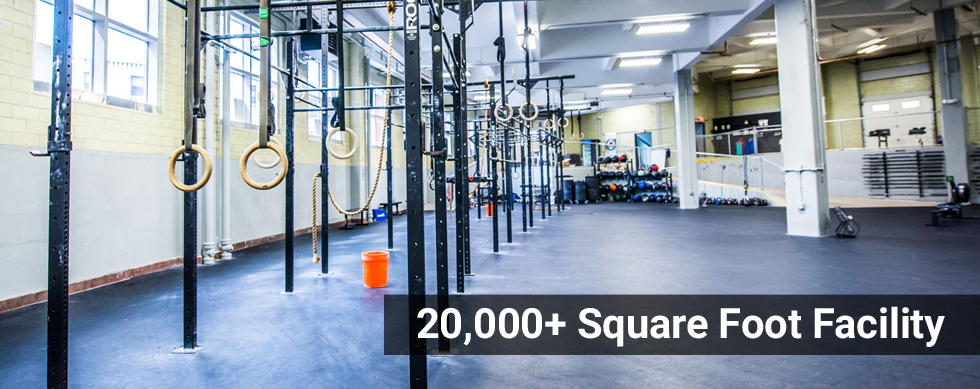 CrossFit Athletics 20000+ sqft facility
